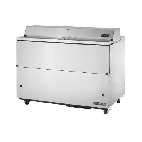 True TMC-58-S-SS-HC Forced Air Stainless Steel Interior & Exterior Mobile Milk Cooler