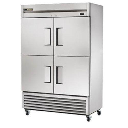 True TS-49F-4-HC Two-Section Half Door Reach-In Freezer