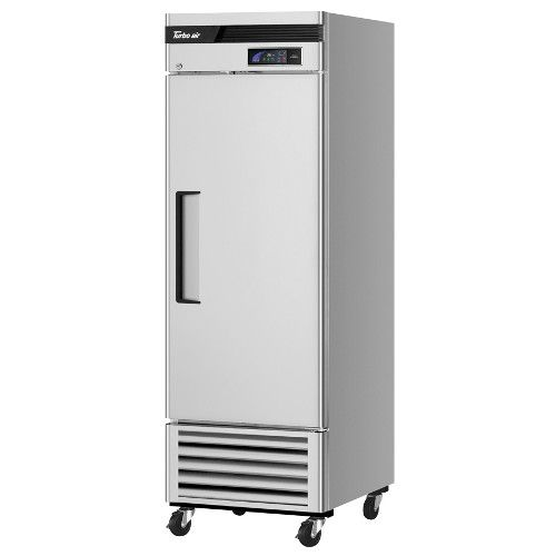Turbo Air TSR-23SD-N6 Super Deluxe Reach-In Single-Section Solid Door Refrigerator