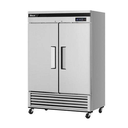 Turbo Air TSR-49SD-N6 Super Deluxe Reach-In Two-Section Solid Door Refrigerator