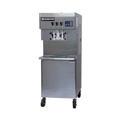 Stoelting U431-309I2 Air Cooled Soft-Serve Freezer with Two 32-Quart Hoppers