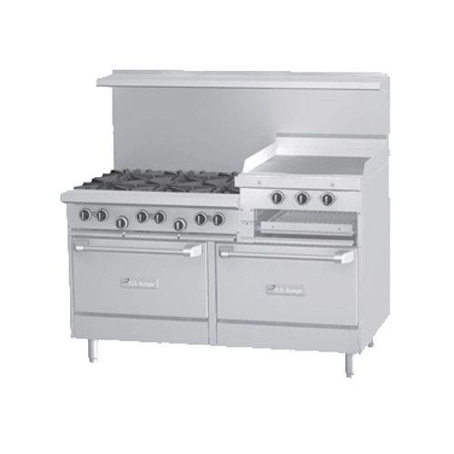 U.S. Range U60-6R24RR 6 Burner 60