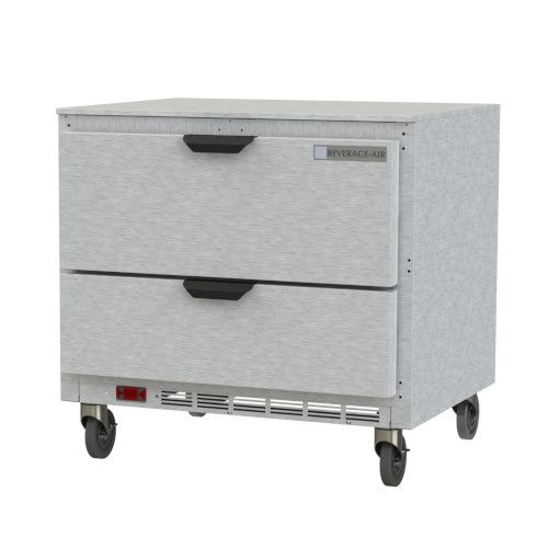 Beverage Air UCRD36AHC-2 One Section Undercounter Refrigerator with Two Drawer