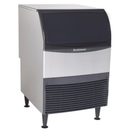 Scotsman UN324W-1 Nugget-Style Water-Cooled Ice Maker with Bin - 340 lb/24 hr Production
