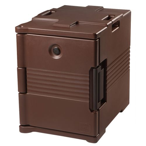 Cambro UPC400131 Front Loading Camcarrier Ultra Pan Carrier (Dark Brown)