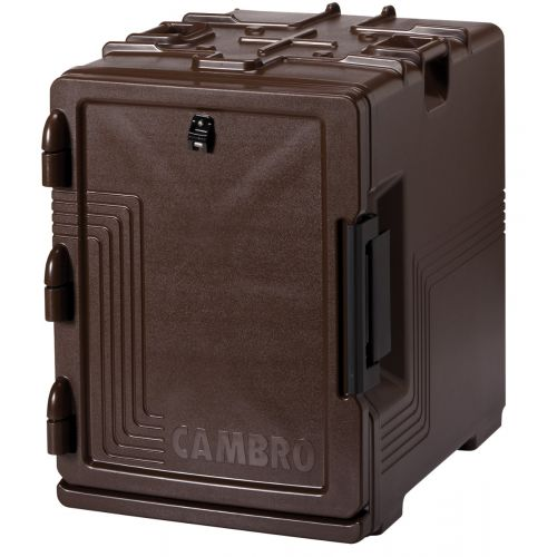 Cambro UPCS400131 Front Loading Camcarrier Ultra Pan Carrier (Dark Brown)