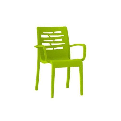 Grosfillex US118152 Fern Green Essenza Stacking Armchair (16 per case)