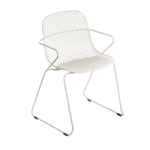 Grosfillex US137710 Creme Absolut Ramatuelle '73 Armchair (4 per case)
