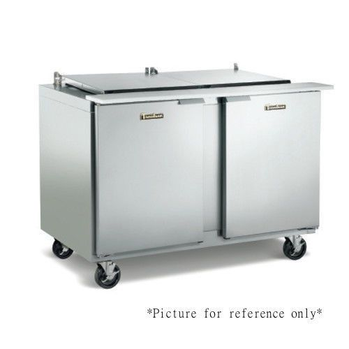 Traulsen UST7230LR-0300-SB Refrigerated Counter with Stainless Steel Back