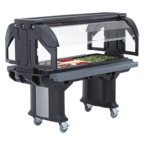Cambro VBR6110 Cold Food Versa Food Bars Serving Buffet (Black)