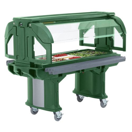 Cambro VBR6519 Cold Food Versa Food Bars Serving Buffet (Kentucky Green)