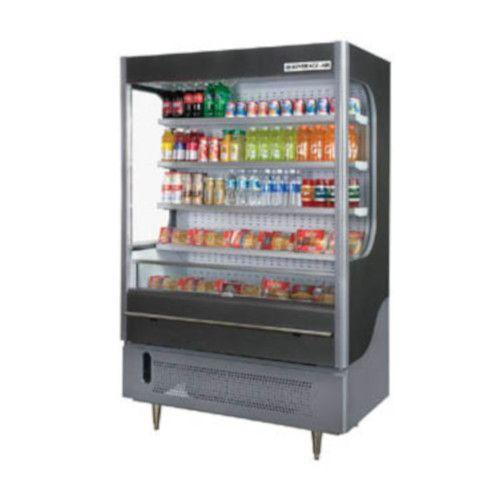 Beverage Air VM18-1-G-LED Vuemax Series Open-Air Merchandiser