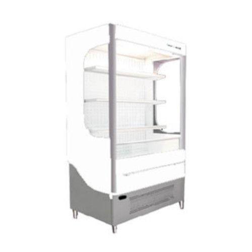 Beverage Air VM18-1-W-LED Vuemax Series Open-Air Merchandiser