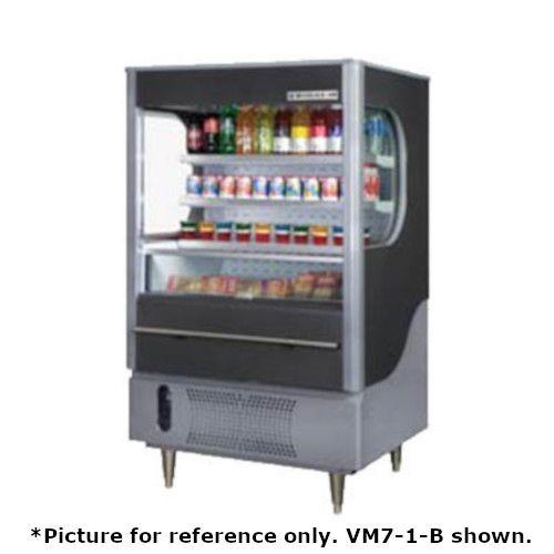 Beverage Air VM7-1-W-LED Vuemax Series Open-Air Merchandiser
