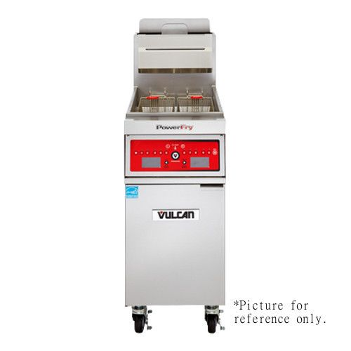 Vulcan 1TR45AF High Efficiency PowerFry3 Gas Fryer with KleenScreen PLUS Filtration System - 70,000 BTU