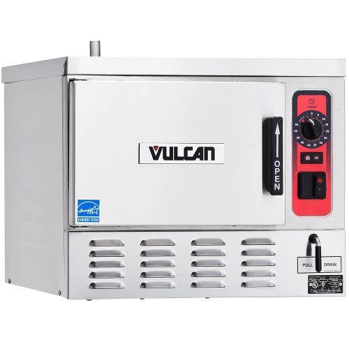 Vulcan C24EO3-1 3 Pan Boilerless/Connectionless Electric Countertop Steamer - 208 Volts