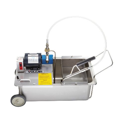 Vulcan MF-1 Portable Fryer Filtration with 110 lb. Capacity - 1/3 HP Motor Pump