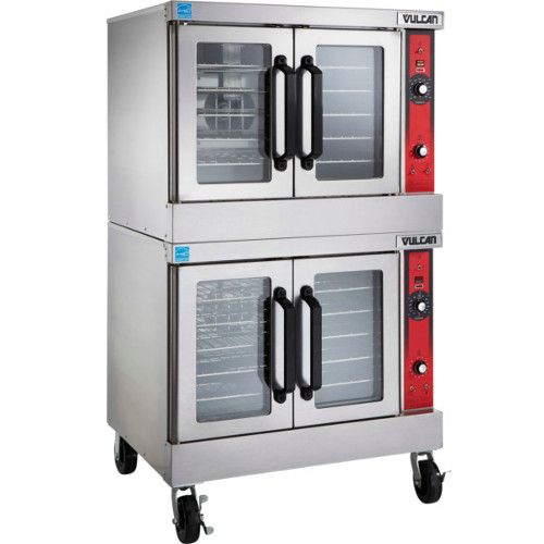 Vulcan VC44ED Double Deck Full Size Electric Convection Oven