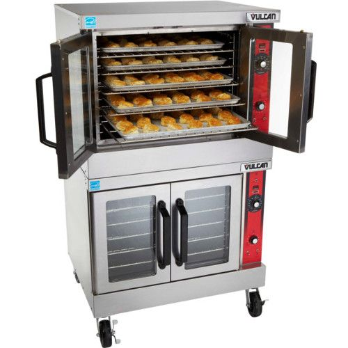 Vulcan VC44GD Double Deck Full Size Gas Convection Oven