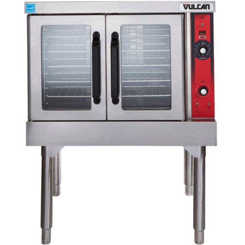 Vulcan VC4ED 480v Single Deck Full Size Electric Convection Oven