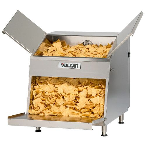 Vulcan VCW26 First-In First-Out Nacho Chip Warmer 26 Gallon Capacity