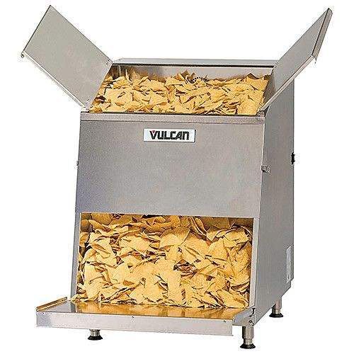 Vulcan VCW46 First-In First-Out Nacho Chip Warmer 46 Gallon Capacity