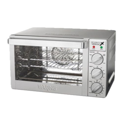 Waring WCO250X Electric Countertop 1/4-Size Commercial Convection Oven
