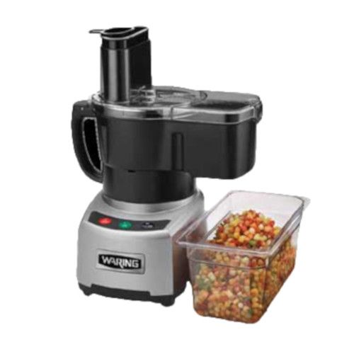 Waring WFP16SCD Benchtop / Countertop Combination Continuous-Feed / Batch Bowl Processor