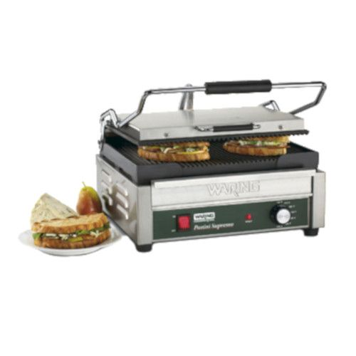 Waring WPG250 Electric Single Panini Supremo Large Panini Grill