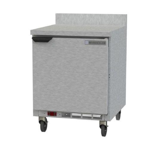 Beverage Air WTF27HC 1 Section Worktop Freezer