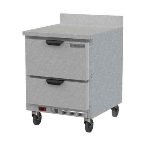Beverage Air WTFD27AHC-2 Worktop Freezer With Doors And Removable Backsplash