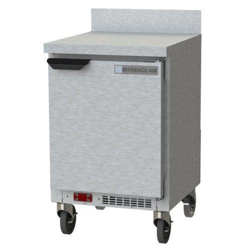 Beverage Air WTR20AHC Shallow Depth Worktop Refrigerator With Removable Backsplash