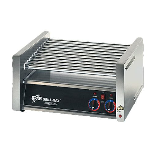 Star X30 30 Hot Dog Roller Grill with Chrome Plated Rollers