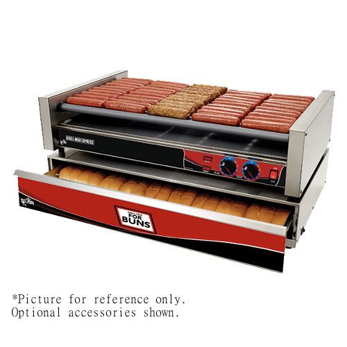 Star X50 50 Hot Dog Roller Grill with Chrome Plated Rollers