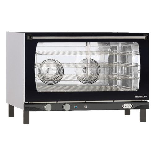 Cadco XAF-193 Electric Countertop Convection Oven - Accommodates 4 Full-Size Sheet Pans