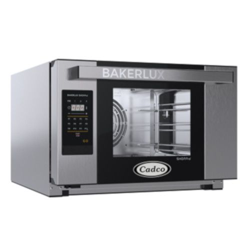 Cadco XAFT-03HS-GD Half-Size Bakerlux Go Heavy-Duty Convection Oven