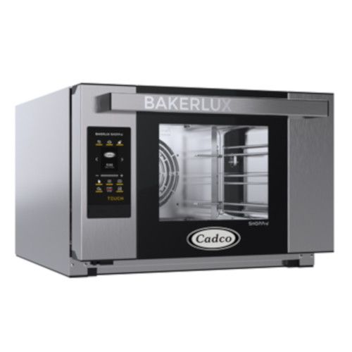 Cadco XAFT-03HS-TD Half-Size Bakerlux TOUCH Heavy-Duty Convection Oven