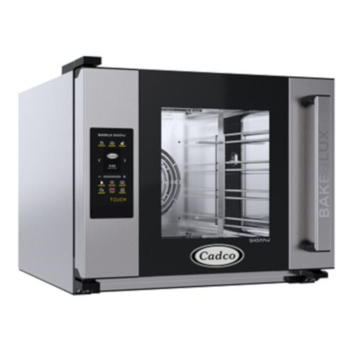 Cadco XAFT-04HS-TR Half-Size Bakerlux TOUCH Heavy-Duty Convection Oven