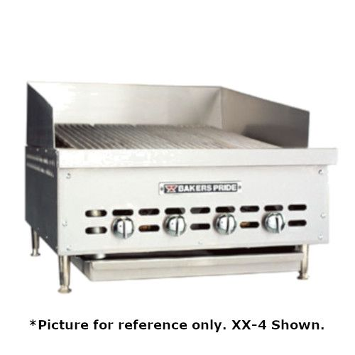 Bakers Pride XX-6 Dante Series Low Profile Countertop Gas Charbroiler