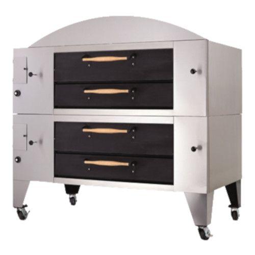 Bakers Pride Y-602-DSP Super Deck Y Series Double Deck Display Pizza Oven