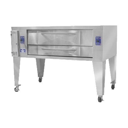 Bakers Pride Y-800 Super Deck Y Series Gas Single Deck Pizza Oven