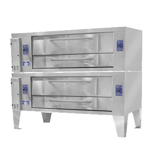 Bakers Pride Y-802 Super Deck Y Series Double Deck Pizza Oven