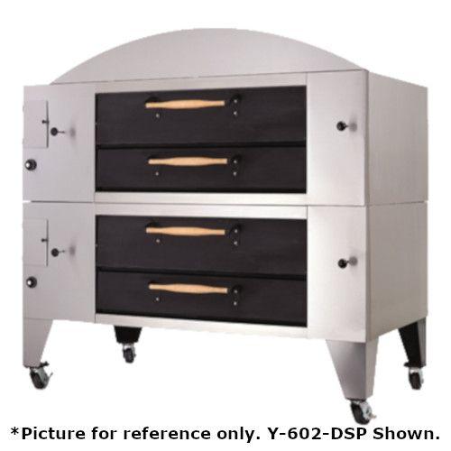 Bakers Pride Y-802-DSP Super Deck Y Series Double Deck Display Pizza Oven