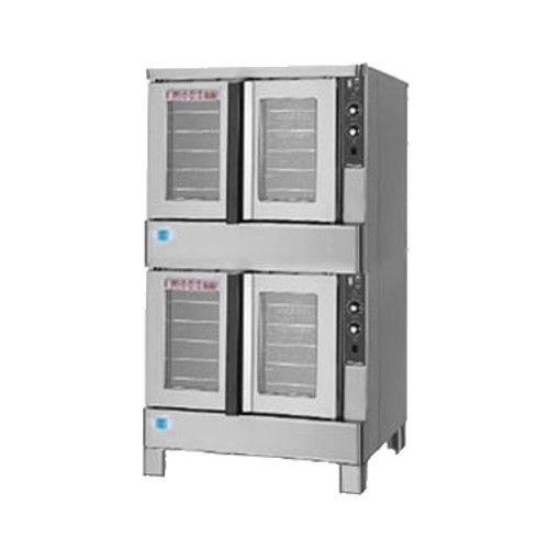 Blodgett ZEPH-100-E DOUBLE Double Deck Full Size Electric Convection Oven