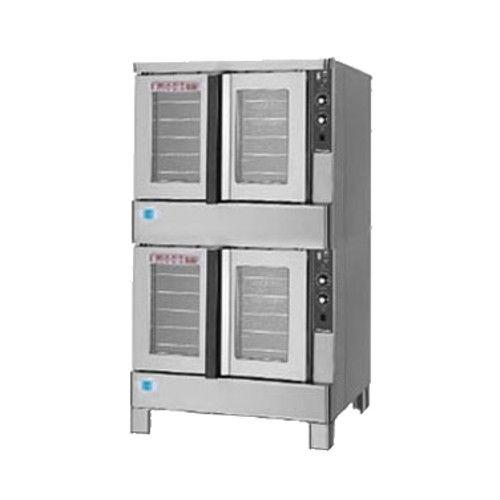 Blodgett ZEPH-100-G DOUBLE Double Deck Full Size Gas Convection Oven