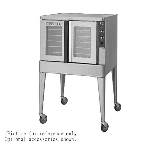 Blodgett ZEPH-200-G SINGL Single Deck Full Size Bakery Depth Gas Convection Oven