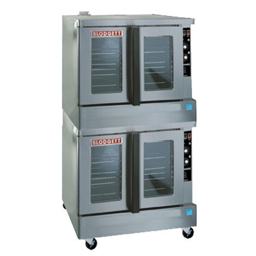 Blodgett ZEPH-200-G-ES DOUBLE Double Deck Full Size Bakery Depth Convection Oven