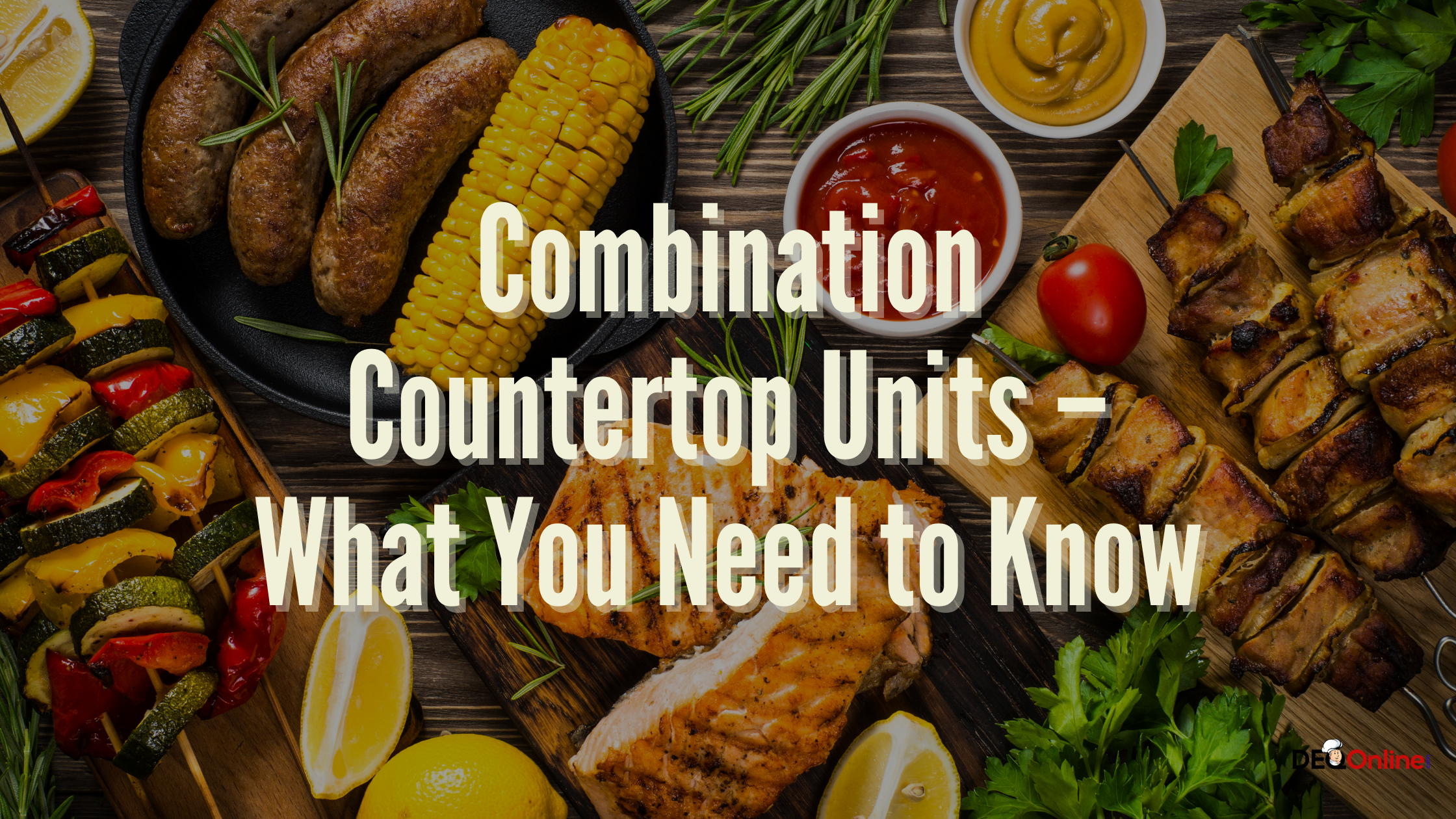 Combination Countertop Units – What You Need to Know