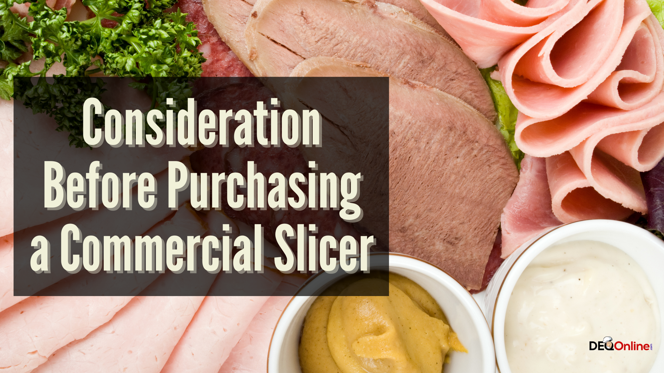 Consideration Before Purchasing a Commercial Slicer