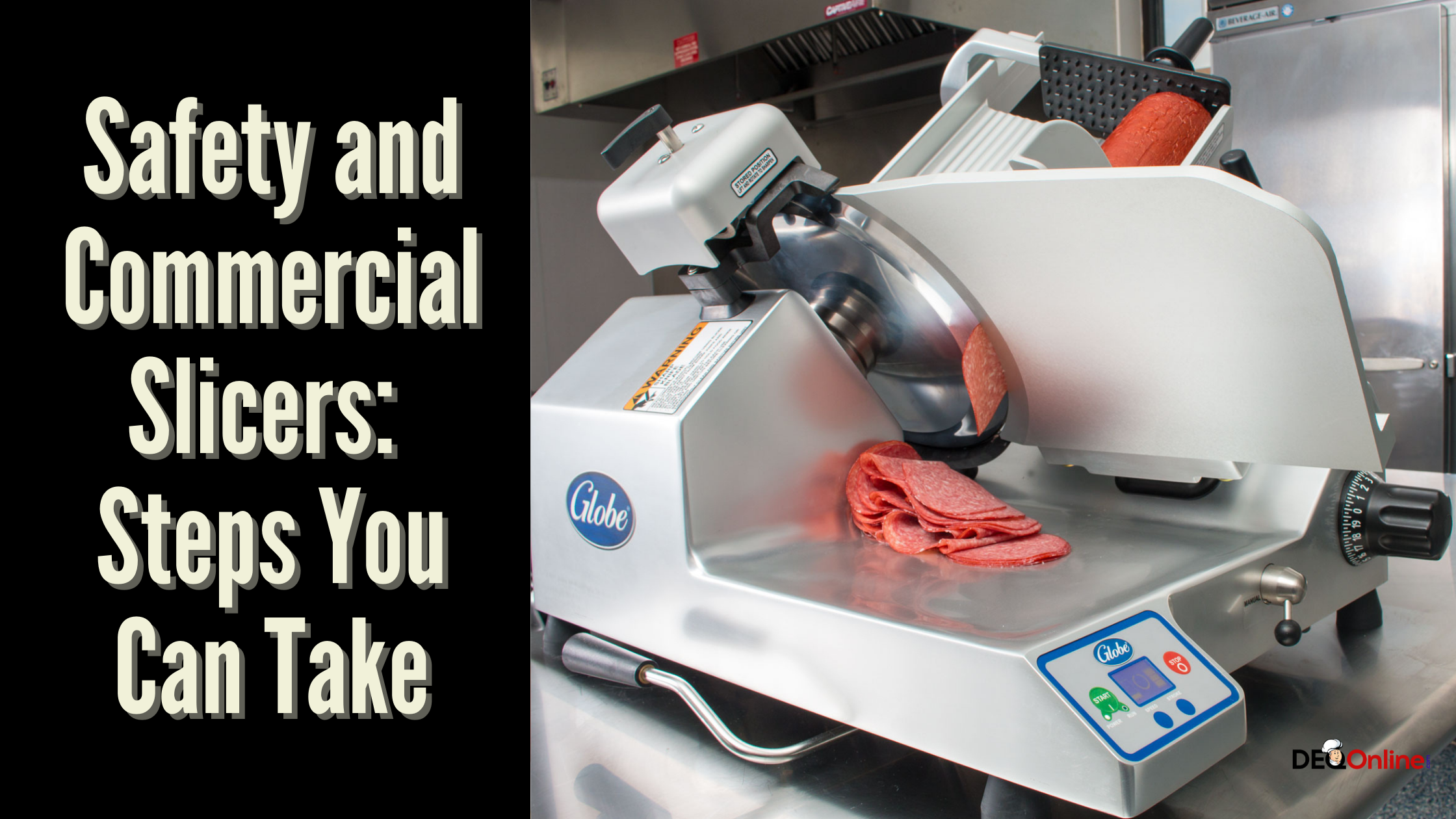 Safety and Commercial Slicers: Steps You Can Take